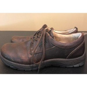 Flat Tire Sydney Brown Leather Oxford Shoes
